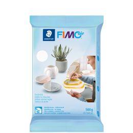 FIMO air BASIC Modelliermasse, lufthärtend, weiß, 500 g