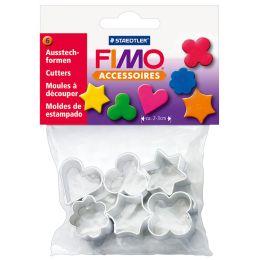 FIMO Ausstechformen für Modelliermasse, aus Metall, 6 Motive
