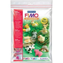 FIMO Motiv-Form Tiere auf dem Bauernhof, 9 Motive