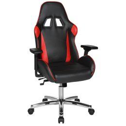 Topstar Chefsessel Speed Chair 2, schwarz/rot