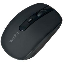 LogiLink Optische Bluetooth Maus, kabellos, schwarz