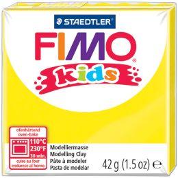 FIMO kids Modelliermasse, ofenhärtend, gelb, 42 g