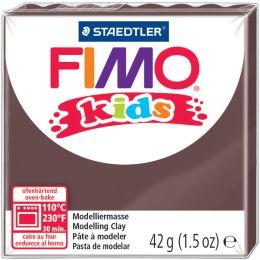 FIMO kids Modelliermasse, ofenhärtend, braun, 42 g