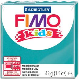 FIMO kids Modelliermasse, ofenhärtend, türkis, 42 g