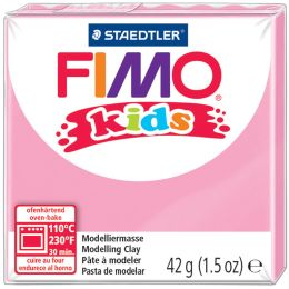 FIMO kids Modelliermasse, ofenhärtend, pink, 42 g
