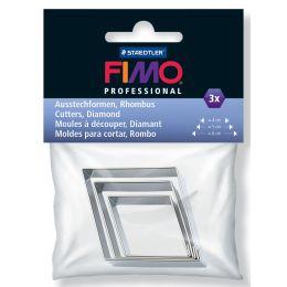 FIMO PROFESSIONAL Ausstechformen für ModelliermasseRhombus