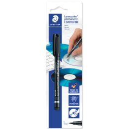 STAEDTLER Lumocolor CD-/DVD-Marker permanent, Blister