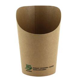 PAPSTAR Wrap-Cup pure, rund, 230 ml, braun
