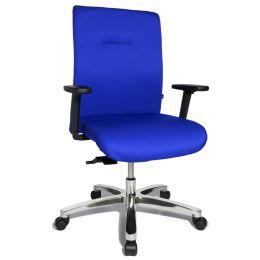 Topstar Schwerlast-Bürodrehstuhl Big Star 10, blau