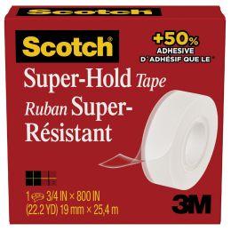 Scotch Klebefilm Super-Hold 700K, 19 mm x 25,4 m, Karton