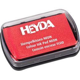 HEYDA Stempelkissen Neon, neonrot