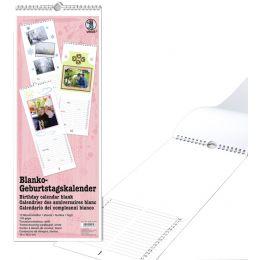 URSUS Kreativ-Wandkalender Geburtstagsplaner, 160 x 425 mm