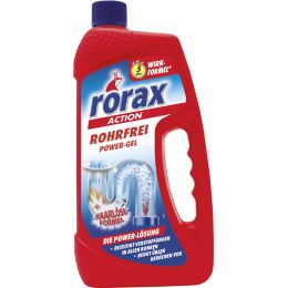 rorax Abflussreiniger ROHRFREI POWER-GEL, 1 Liter Flasche
