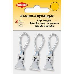 KLEIBER Klemm-Aufhänger, weiß