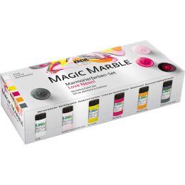 KREUL Marmorierfarbe Magic Marble, Set Love Neon!