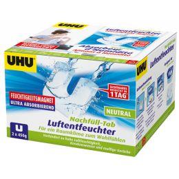 UHU Nachfülltab NEUTRAL für Feuchtigkeits-Magnet, 2 x 450 g