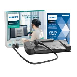 PHILIPS digitales Wiedergabe-/ Transkriptions-Set LFH7177
