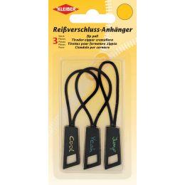 KLEIBER Reißverschlussanhänger, farbig sortiert
