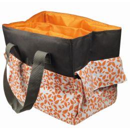 KLEIBER Bastel-/Handarbeitstasche, orange/grau