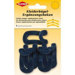 KLEIBER Kleiderbügel-Ergänzungshaken, dunkelblau