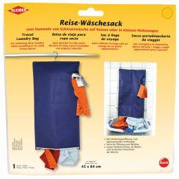 KLEIBER Reise-Wäschesack, (B)450 x (H)840 mm, blau