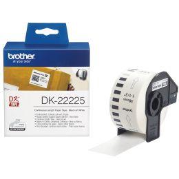 brother DK-N55224 Endlos-Etiketten Papier, 54 mm x 30,48 m