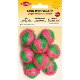 KLEIBER Mini-Waschbälle, rosa/grün
