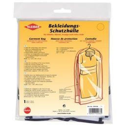 KLEIBER Bekleidungs-Schutzhülle, lang, transparent