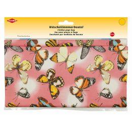 KLEIBER Wäscheklammerbeutel Schmetterlinge