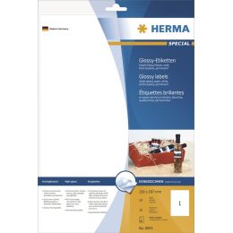HERMA Flaschen-Etiketten SPECIAL, 90 x 120 mm, weiß