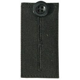 KLEIBER Bunderweiterung, mit Knopf, schwarz
