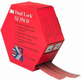 3M Dual Lock Flexibler Druckverschluss, Farbe: schwarz