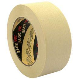3M Krepp-Klebeband 201E, 24 mm x 50 m, Papier, beige