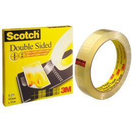 3M Scotch doppelseitiger Klebefilm 665, 12 mm x 6,3 m