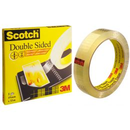 3M Scotch doppelseitiger Klebefilm 665, 12 mm x 32,9 m