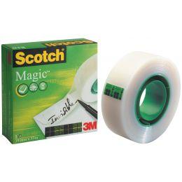 3M Scotch Klebefilm Magic 810, unsichtbar, 25 mm x 66 m