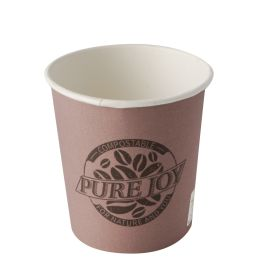 PAPSTAR Papp-Trinkbecher pure, 0,1 l, lila