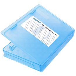 LogiLink HDD-Box für 2,5 Festplatten, blau