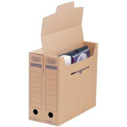 ELBA Archiv-Schachtel standard tric System, naturbraun