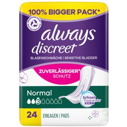 always discreet Inkontinenz-Einlage Normal 12
