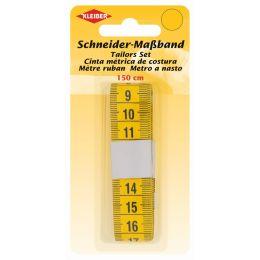 KLEIBER Schneider-Maßband, 150 cm, gelb