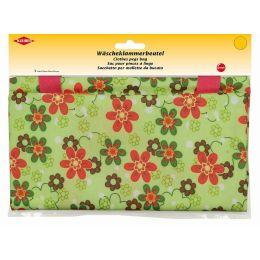 KLEIBER Wäscheklammerbeutel Blumen