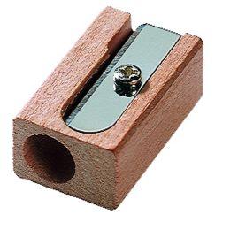 M+R Spitzer, aus Holz, Blockform