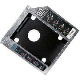 LogiLink 2,5 SATA Festplatten Caddy, (H)9,5 mm, schwarz