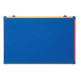 Bi-Office Kinder-Filztafel Schoolmate, blau, 600 x 450 mm