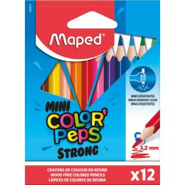 Maped Dreikant-Buntstifte COLORPEPS STRONG MINI, 12er Etui