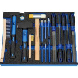 HEYTEC Modul*** Kombinierter Werkzeugsatz, 16-teilig