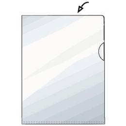 HETZEL Sichthülle Standard, A5, PP, genarbt, 0,11 mm