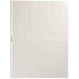 HETZEL Prospekthülle Standard, A3 hoch, PP, genarbt, 0,08 mm