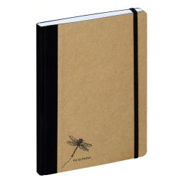 PAGNA Notizbuch Pur, DIN A4, kariert, natur